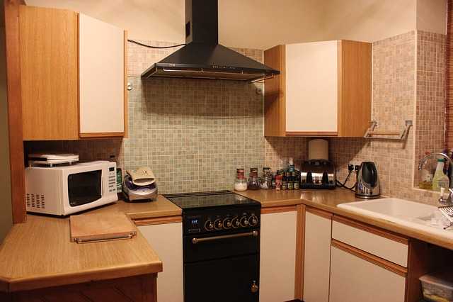 clean kitchen